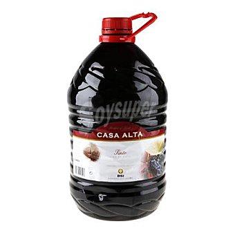 Casa Alta Vino tinto de mesa en garrafa 5 l