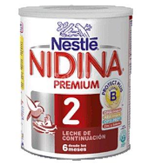 Nidina Nestlé Leche en polvo de continuación 2 Premium Nidina 1 kg