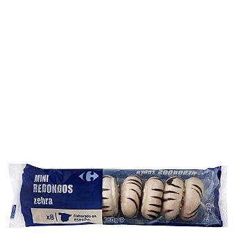 Carrefour Mini redondos de chocolate 155 g