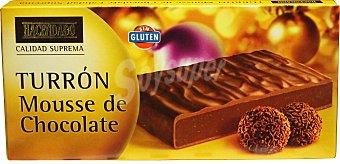 Hacendado Turron mousse de chocolate Pastilla 200 g
