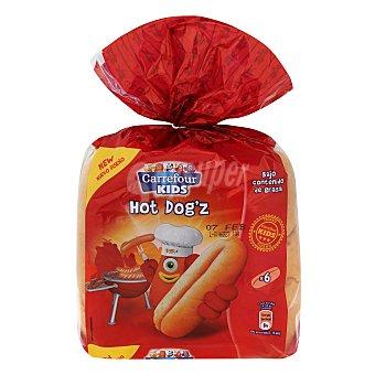 Carrefour Panecillos para perritos calientes Carrefour Kids 330 g