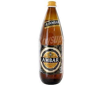 Ambar Cerveza Botella de 1 l