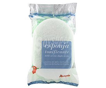 Auchan Esponja de baño tonificante