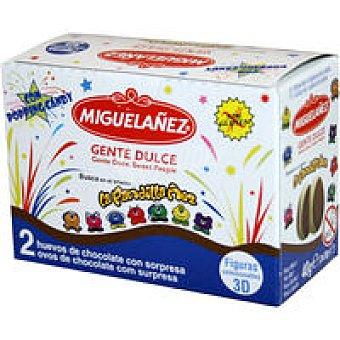 Miguelañez Huevo de chocolate Pack 2x20 g