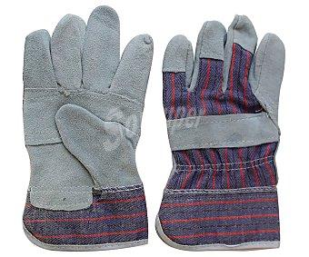 Producto Alcampo Par de guantes para jardín de cuero y tejido, de tipo americano alcampo