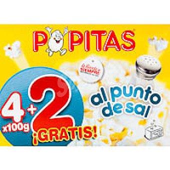 Borges Popitas Paquete 4+2 unid
