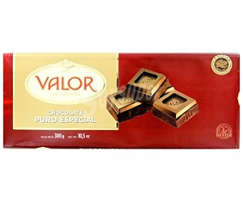 Valor Chocolate especial puro 300 Gramos