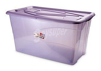 Carrefour Baúl antipolillas 90 litros Violeta 1 ud