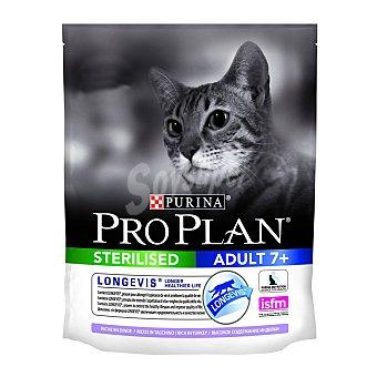 Pro plan Pienso para gatos adultos +7 Pro Plan Sterilised Longevis pavo 1,5 kg