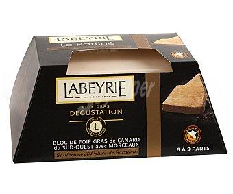 Labeyrie Bloc foie gras de pato,, tarrina 280 gramos