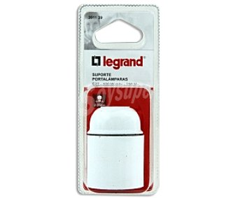 LEGRAND Portalamparas E27 blanco con potencia máxima de 100W 1 unidad
