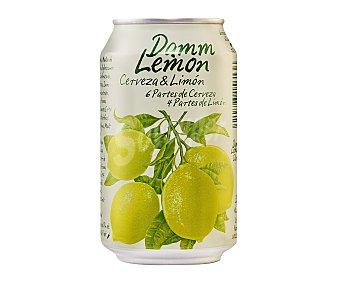 Damm Cerveza Damm Lemon con limón Lata 33 cl