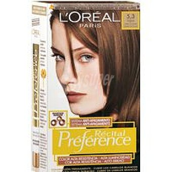 Preference L'Oréal Paris Tinte Virginie N.5.3 Caja 1 unid