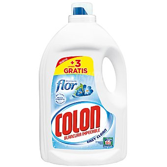 COLON Easy Clean Detergente máquina líquido gel Toque de Flor botella 43 dosis Botella 43 dosis
