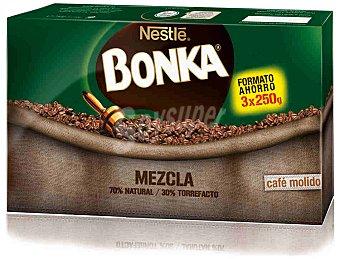 Bonka Nestlé Café molido mezcla triplo 750 g