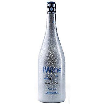 IWINE Nieve Carbónica vino blanco Albariño 100% D.O. Rías Baixas botella 75 cl botella 75 cl