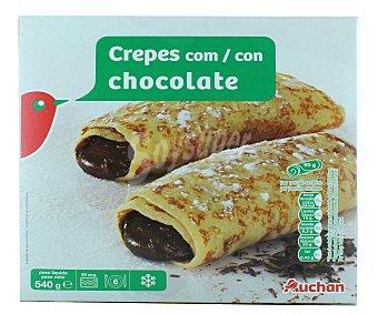 Producto Alcampo Crepes rellenos de chocolate 6 x 90 g