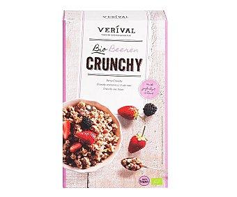 Verival Muesli crunchy fresas ecológico 375 g