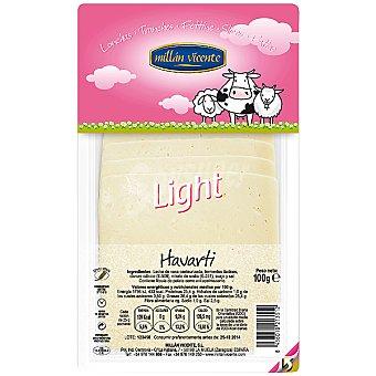Millan Vicente Queso havarti light en lonchas Envase 100 g
