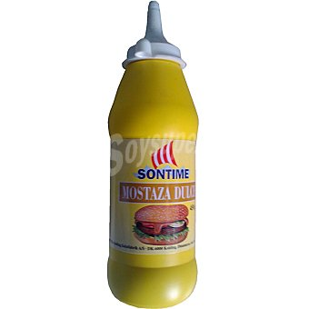 SONTIME Mostaza dulce Bote 450 g