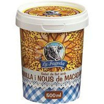 La Fageda Vainilla-nueces de macadamia Tarrina 500 ml