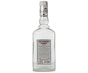 Tres Sombreros Tequila Blanco 70 centilitros