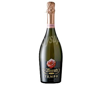 Tempo Vino blanco moscato espumante dulce de Italia Botella de 75 centilitros