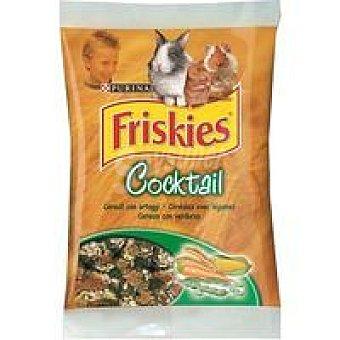 Purina Friskies Alimento complementario para pequeños mamíferos con cereales, verduras y legumbres Bolsa 400 g