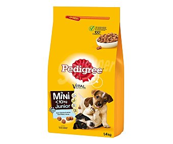 Pedigree Alimento perro seco sabor a pollo Junior 1,4 g