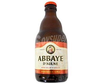 ABBAYE D´AULNE Cerveza rubia de abadía Premier CRU botella de 33 centilítros