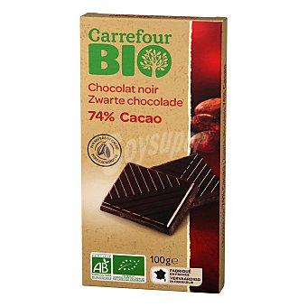 Carrefour Bio Chocolate negro 74% ecológico 100 G 100 g