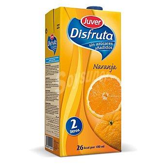 Juver Néctar de naranja sin azúcar añadido Brik de 2 l