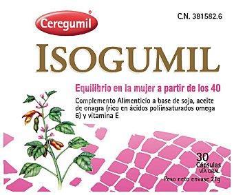 ISOGUMIL Complemento alimenticios (isoflavonas soja+onagra +vit E) 30 C
