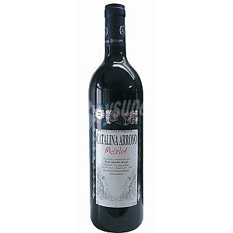 Catalina Arroyo Vino tinto merlot de la Tierra de Extremadura botella 75 cl Botella 75 cl