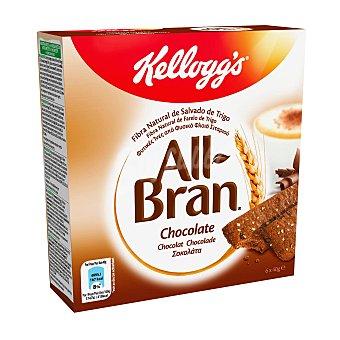 All Bran Kellogg's Cereales en barrita con chocolate Pack de 6 uds