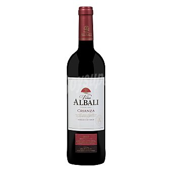 Viña Albali Vino tinto crianza con denominación de origen Valdepeñas Botella de 75 cl