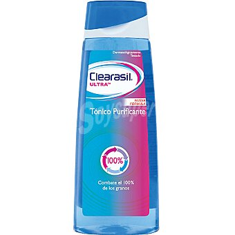 CLEARASIL ULTRA Tónico purificante uso diario frasco 200 ml Frasco 200 ml