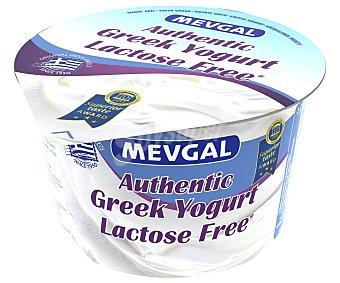 Mevgal Yogur griego (sólo 10% materia grasa) sin lactosa y de sabor natural 150 g