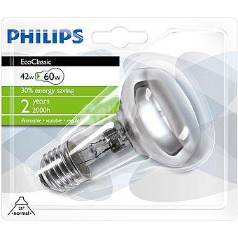 Philips (60 W) lámpara eco halógena casquillo E27 (grueso) 230 V Ecoclassic 42 W 1 unidad