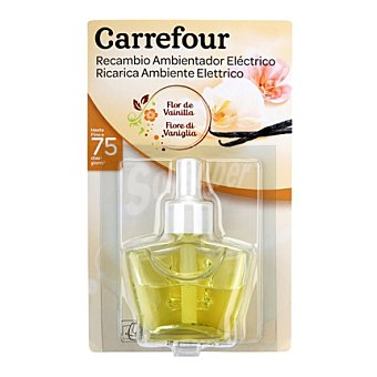 Carrefour Recambio Ambientador eléctrico Flor de Vainilla 1 recambio.