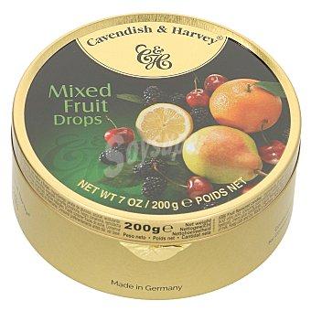 CAVENDISH & HARVEY Caramelos frutas Lata 200 gr