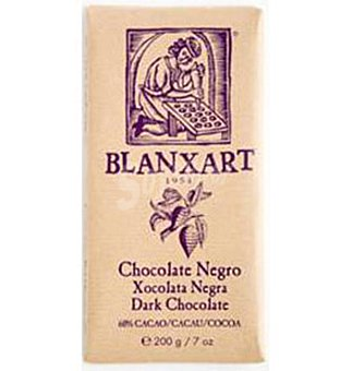 Blanxart Chocolate 60% + Cacao  200 g