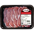 Lomo fresco de cerdo ibérico en filetes peso aproximado Bandeja 475 g Campovilla