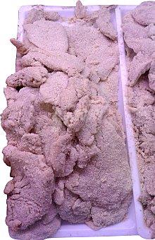 Pollo Escalope Empanado Fresco a Granel 200 g peso aprox.