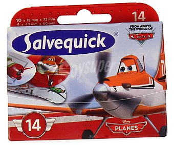 Salvequick Apósitos Cars de Disney 14U