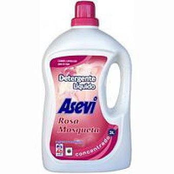Asevi Detergente líquido rosa mosqueta Garrafa 42 dosis