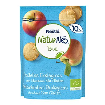 Naturnés Nestlé Galletas ecológicas con miel y sin gluten, a partir de 18 meses BIO 150 g