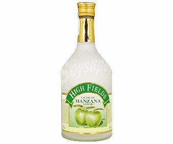 HIGHFIELDS Licor de Manzana Verde Botella 70 Centilitros