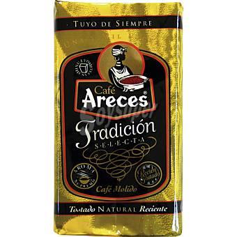 Areces Café molido natural Paquete 250 g