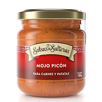 Salteras Mojó picón Salsas de sin gluten y sin lactosa Tarro 180 g
